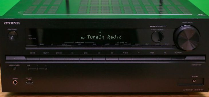 Best home audio products of 2016 – Receiver amps